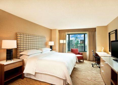 Hotelzimmer mit Paddeln im Sheraton Grand Chicago