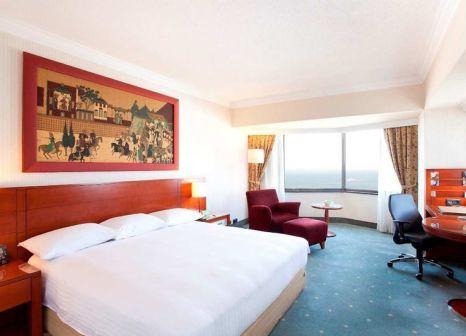 Hotelzimmer mit Volleyball im Hilton Izmir