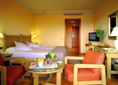 Hotelzimmer mit Tischtennis im Parador de Segovia