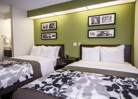 Hotelzimmer mit Tennis im Sleep Inn Miami Airport