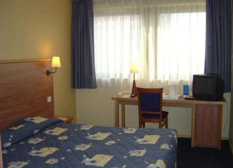 Hotelzimmer mit Klimaanlage im Hôtel Toulouse Canal du Midi
