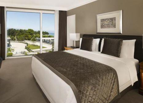 Hotelzimmer mit Mountainbike im Hotel President Wilson, a Luxury Collection Hotel