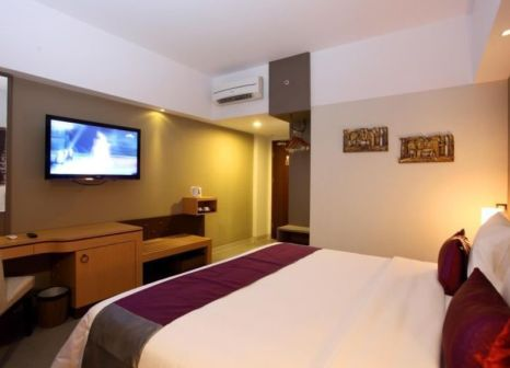 Hotelzimmer mit Mountainbike im Horison Seminyak