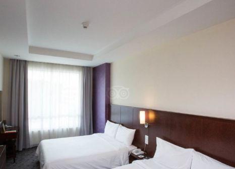 Hotelzimmer mit Klimaanlage im Cititel Express Kota Kinabalu