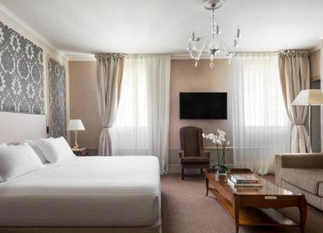 Hotelzimmer mit Mountainbike im El Palace