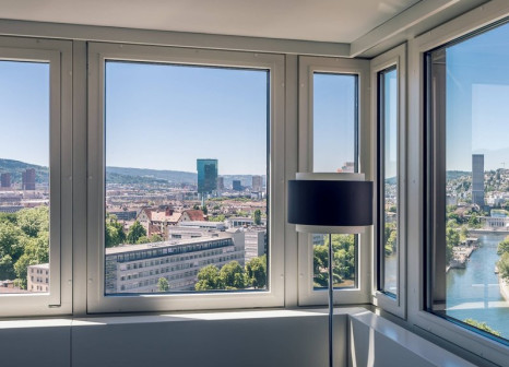 Hotelzimmer mit Kinderbetreuung im Zurich Marriott Hotel