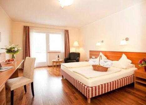 Hotelzimmer mit Tischtennis im Hotel Eberle