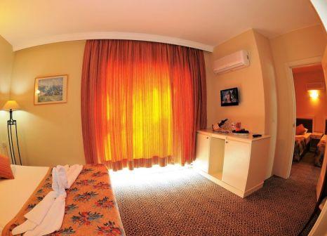 Hotelzimmer mit Mountainbike im Belkon Hotel Belek