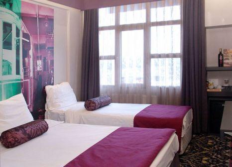 Hotelzimmer mit Mountainbike im Tulip City Taksim Hotel