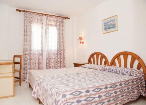 Hotelzimmer mit Mountainbike im Sol Romantica
