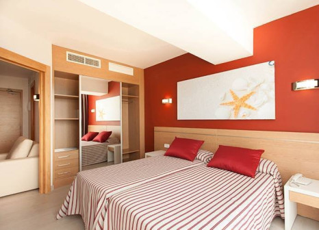 Hotelzimmer mit Mountainbike im Hotel Pabisa Bali