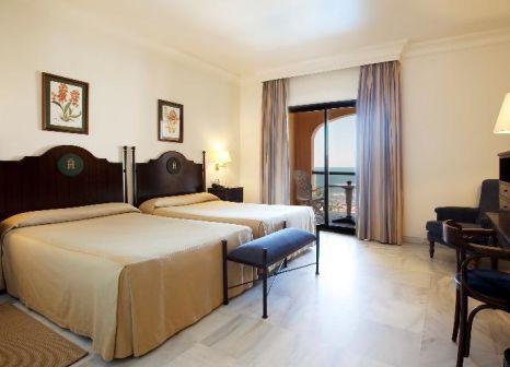 Hotelzimmer mit Golf im Hotel Duque de Nájera