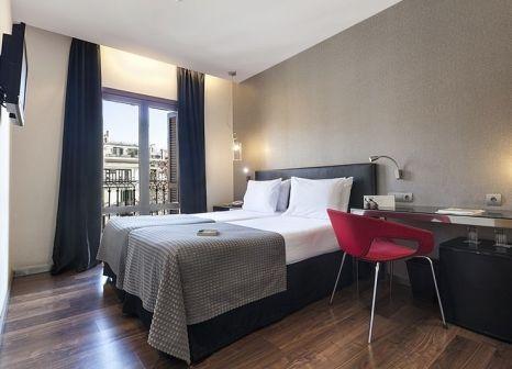 Hotelzimmer mit Geschäfte im Exe Ramblas Boquería