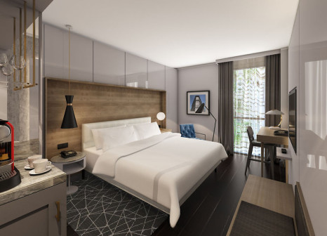 Hotelzimmer mit Animationsprogramm im Hotel Le Méridien Visconti Rome