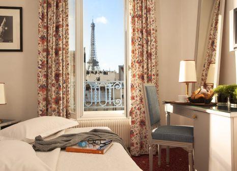 Hotelzimmer mit Klimaanlage im Les Jardins d'Eiffel