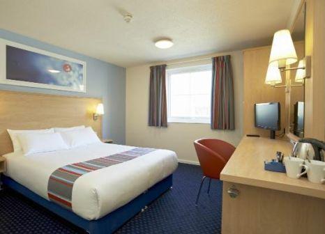 Hotelzimmer mit Restaurant im Travelodge London Docklands