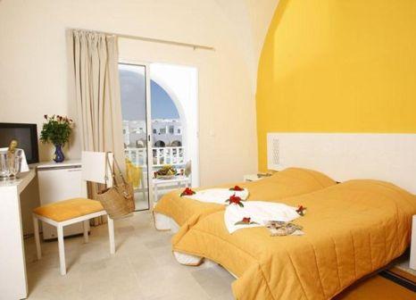 Hotelzimmer mit Mountainbike im Ksar Djerba