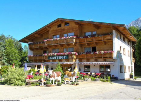 Hotel Appartementanlage Scheffauer Hof & Gasthaus günstig bei weg.de buchen - Bild von TROPO