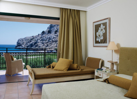 Hotelzimmer mit Yoga im Atlantica Aegean Blue Resort