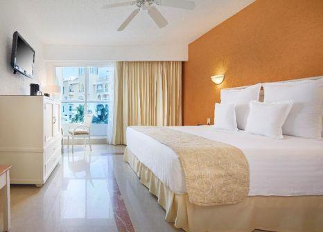 Hotelzimmer mit Mountainbike im Occidental Costa Cancún