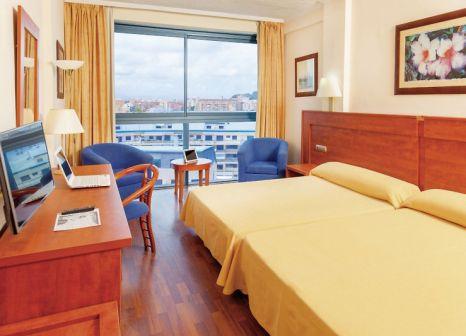 Hotelzimmer mit Tischtennis im Port Dénia