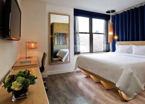 Hotelzimmer mit Animationsprogramm im Arthouse Hotel New York City