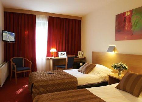 Hotelzimmer mit Klimaanlage im Bastion Hotel Leeuwarden