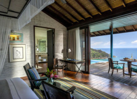 Hotelzimmer mit Golf im Four Seasons Resort Seychelles