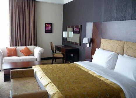 Hotelzimmer mit Kinderpool im Swiss-Belhotel Doha