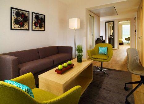 Hotelzimmer mit Golf im Courtyard Montpellier