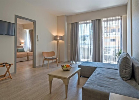 Hotelzimmer mit Tischtennis im Lefkoniko Beach