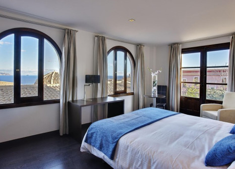 Hotelzimmer mit Golf im Pueblo Acantilado Suites