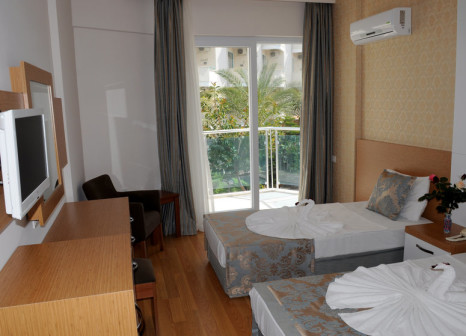 Hotelzimmer mit Volleyball im Blue Fish Hotel