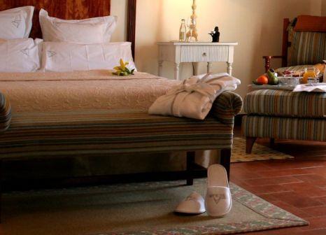Hotelzimmer mit Mountainbike im Hotel Termes Montbrio