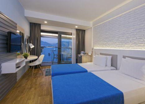 Hotelzimmer mit Tischtennis im Hotel Kaptan