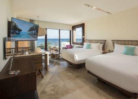 Hotelzimmer mit Mountainbike im Hotel Xcaret Mexico