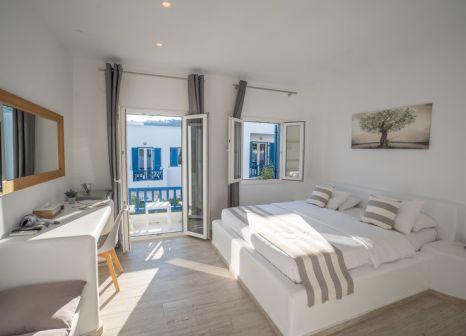 Hotelzimmer mit Segeln im Acrogiali Hotel