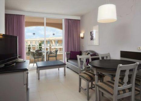 Hotelzimmer mit Mountainbike im Protur Badía Park Aparthotel