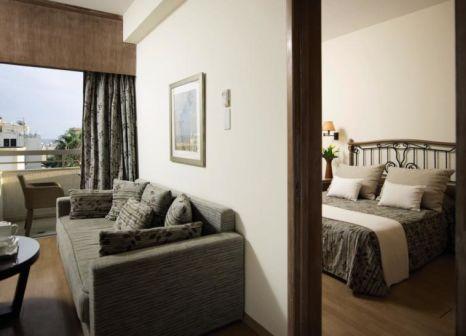 Hotelzimmer mit Tischtennis im Atlantica Oasis Hotel