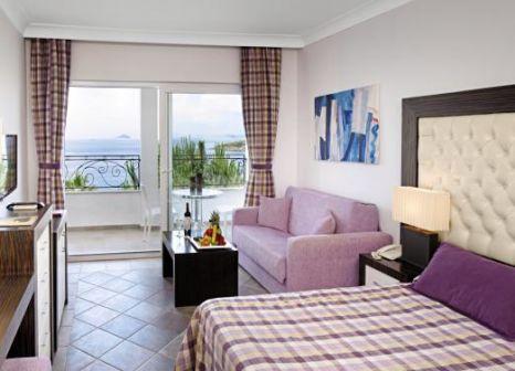 Hotelzimmer mit Volleyball im Kadikale Resort
