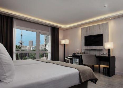 Hotelzimmer mit Tischtennis im Meliá Alicante