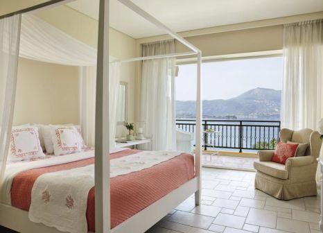 Hotelzimmer mit Yoga im Eva Palace Grecotel Luxury Resort