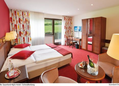 Hotelzimmer im SAUERLAND Alpin Hotel günstig bei weg.de