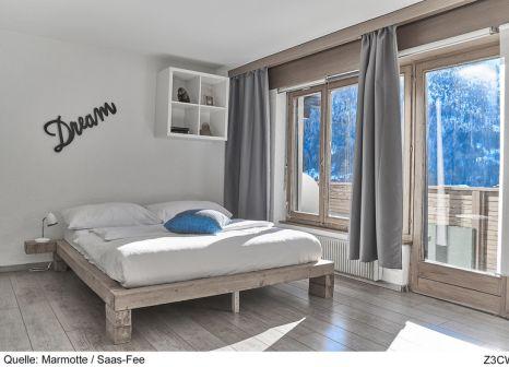 Hotelzimmer mit Minigolf im Hotel Marmotte