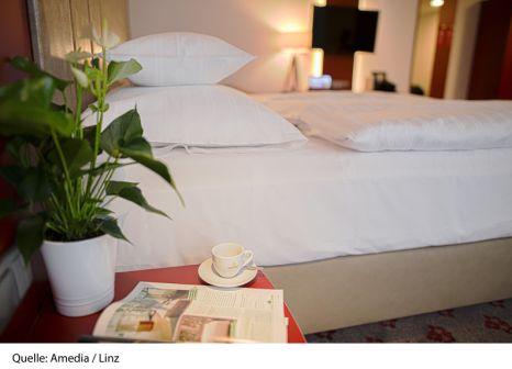 Hotelzimmer mit Internetzugang im AMEDIA Hotel Linz