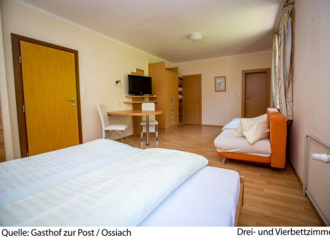Hotelzimmer mit Tennis im Hotel Zur Post