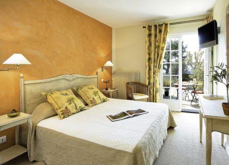 Hotelzimmer mit Klimaanlage im Le Mas d'Aigret