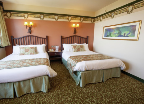 Hotelzimmer mit Kinderpool im Disney's Sequoia Lodge