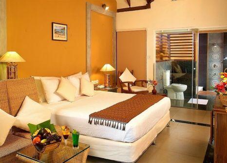Hotelzimmer mit Volleyball im Poovar Island Resort