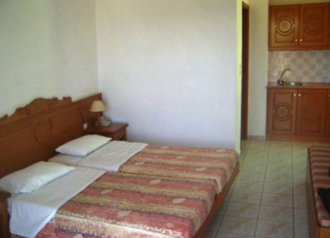 Hotelzimmer mit Mountainbike im Stella Maris
